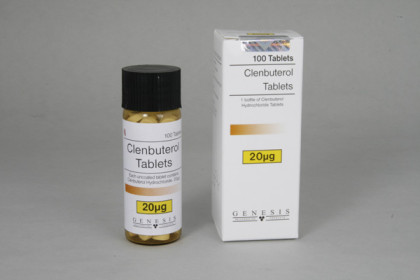 Clenbuterolo compresse 20mcg (100 com)