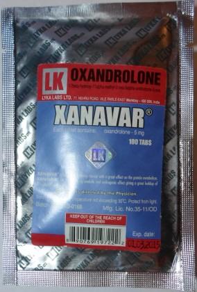 Xanavar 5mg (100 com)